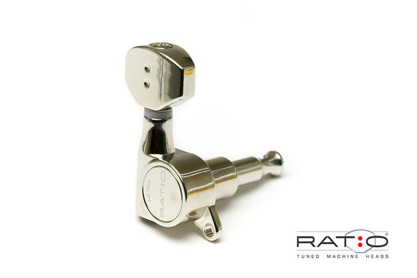 Ratio Electric 6 In-line Mini Contemporary Offset Screw - Nickel