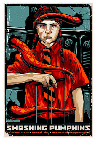 "The Smashing Pumpkins - 2007 Gig poster (26.5"" x 18.5"")"