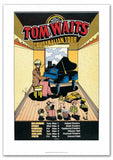 "Tom Waits - Australian Tour 1978 (Reissue) Gig poster (27.5"" x 19.5"")"