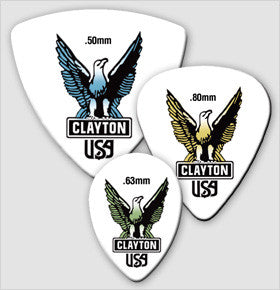Clayton Acetal Guitar Picks