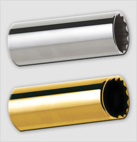 Clayton Chrome/Brass Socket Guitar Slides(BRSS)