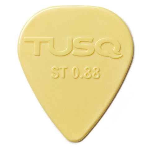 TUSQ Standard Pick .88mm Vintage (Warm) 6 Pack