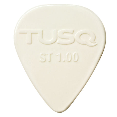 Graph Tech TUSQ Standard Pick 1mm White (Bright) - 6 Pack PQP-0100-W6