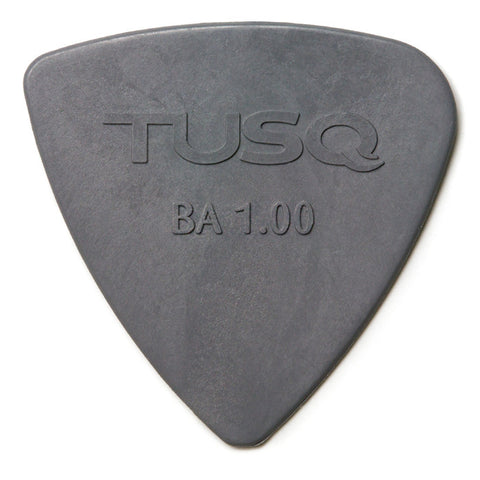 TUSQ Bi-Angle Pick 1mm Gray (Deep) 4 Pack