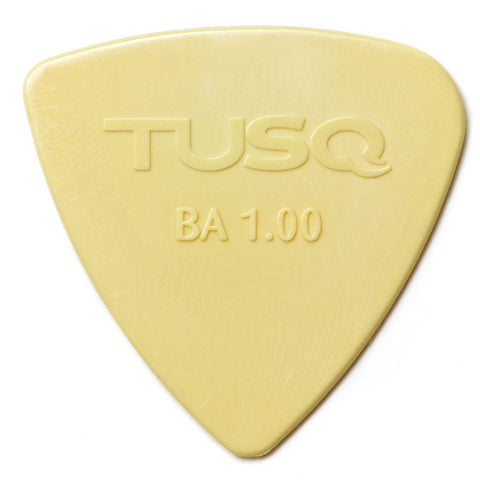 TUSQ Bi-Angle Pick 1mm Vintage (Warm) 4 Pack