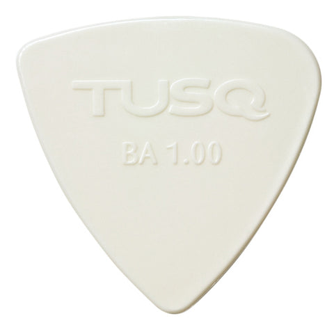 TUSQ Bi-Angle Pick 1mm White (Bright) 4 Pack