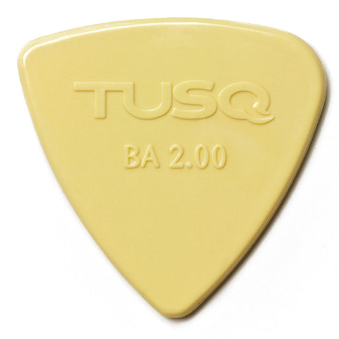 TUSQ Bi-Angle Pick 2mm Vintage (Warm) 4 Pack