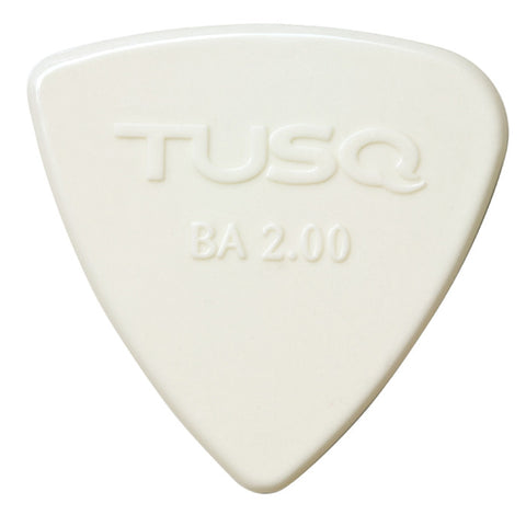 TUSQ Bi-Angle Pick 2mm White (Bright) 4 Pack
