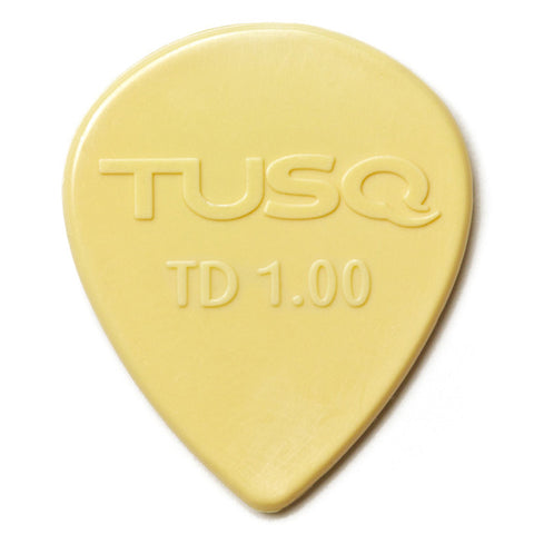 Graph Tech TUSQ Tear Drop Pick 1mm Vintage (Warm) 6 Pack PQP-0501-V6