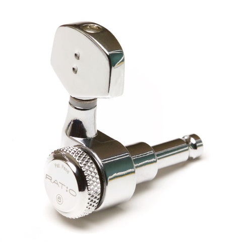 Electric Locking 3+3 Contemporary Chrome 2 Pin