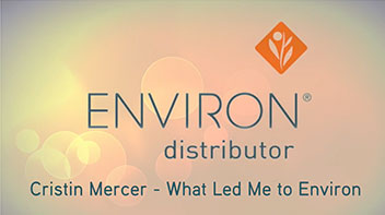 Cristin - What Led Me To Environ