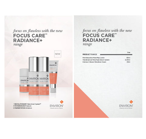 Large Trigger Card<br>Focus Care Radiance+
