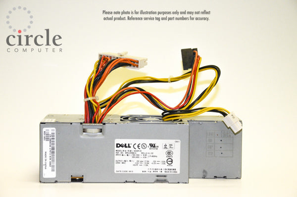 Dell JW067 Optiplex 740e SFF REBUILT Power Supply