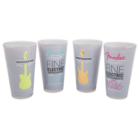 Fender® 1946 Pub Glasses (4)