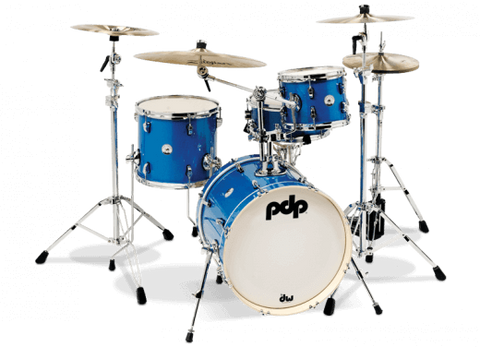 PDP New Yorker 4-piece Shell Pack - Sapphire Sparkle