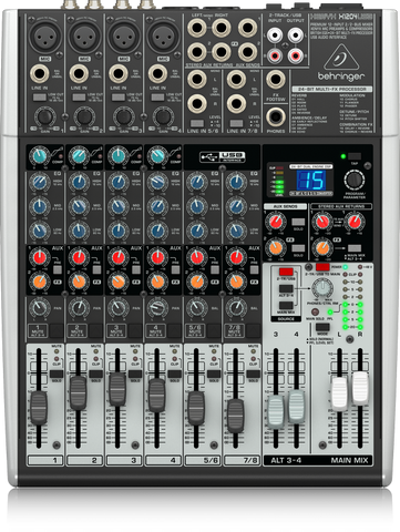 Behringer Xenyx 1204USB Mixer with USB