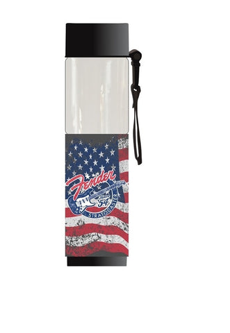 FENDER™ PATRIOTIC STRAT WATER BOTTLE