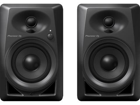 Pioneer DM-40 Share 4-inch compact active monitor speaker (black)