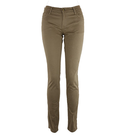 Classic Skinnies in Dark Buff Sateen by Monkee Genes (FS)