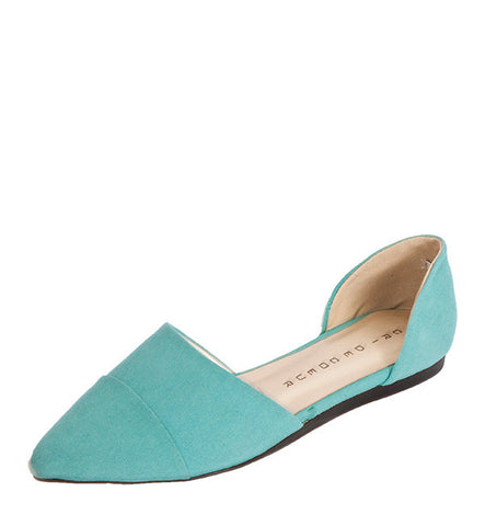 Kimi Flat in Teal by Cri de Coeur