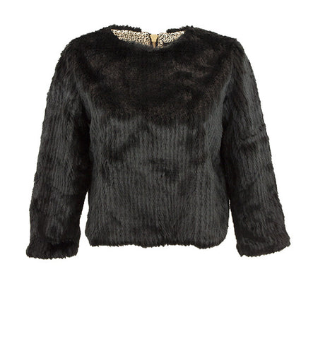 Stardust Top in Black by Unreal Fur (FS)