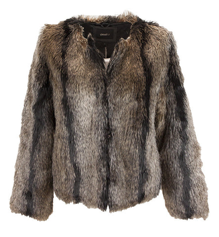 Unreal Dream Jacket in Natural by Unreal Fur (FS)