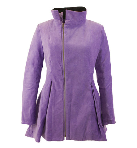 Vaute Coat in Lilac by Vaute Couture (FS)