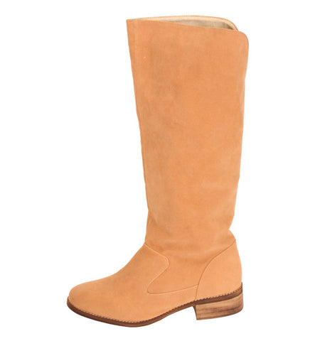 Anne Boot in Beige by Cri de Coeur