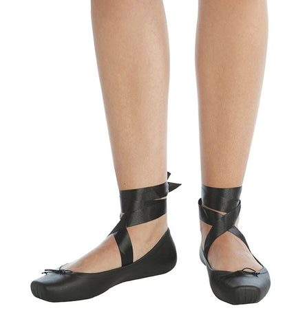 Ballet Flat in Black by Melissa (FS)