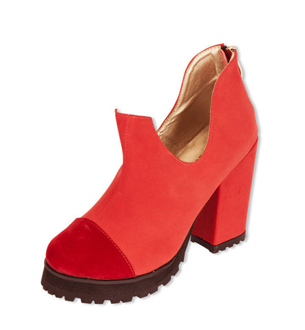 Bloom Bootie in Red by Arden Wohl