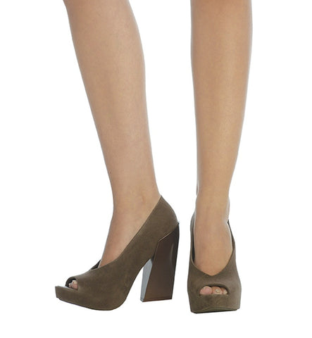 Boho Heel in Brown by Melissa (FS)