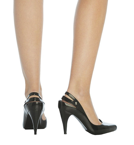 Classic Heel in Black by Melissa