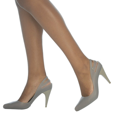 Classic Heel in Gray by Melissa