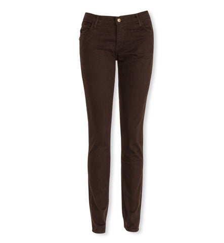 Classic Skinnies in Chocolate Sateen by Monkee Genes (FS)