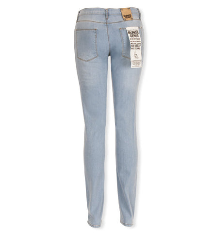 Classic Skinnies in Light Denim by Monkee Genes (FS)