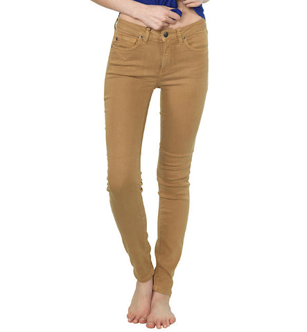 Delgada Skinny Jean in Croissant by Agave Denim