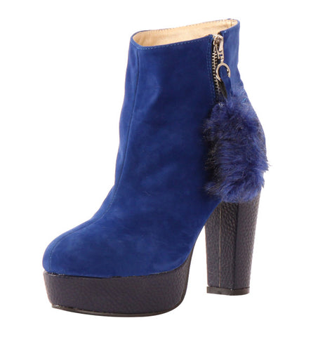 Ditta Boot in Royal by Cri de Coeur