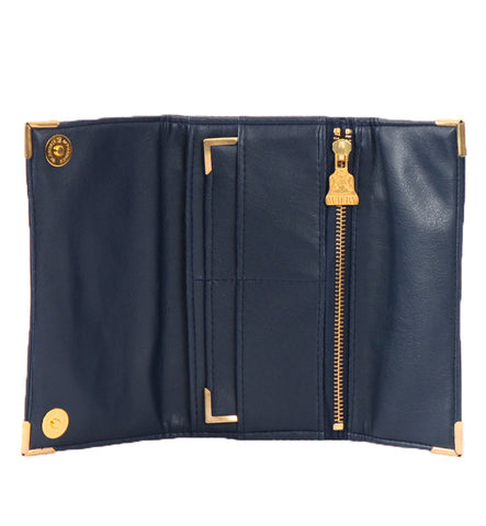 Drayton Wallet in Navy by Wilby