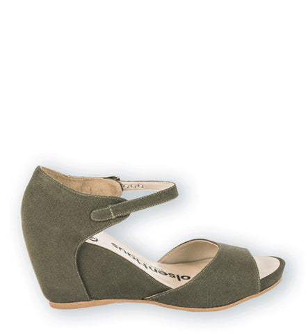 Explore Wedge in Army Green by Olsenhaus