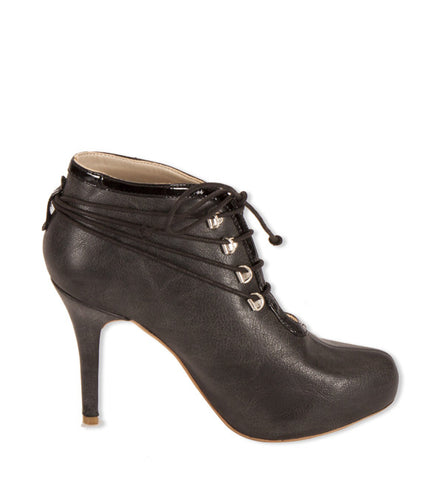 Faith Heel in Charcoal by Olsenhaus