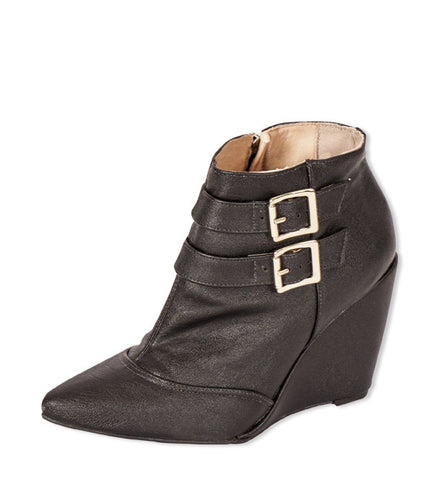 Faye Bootie in Black by Neuaura