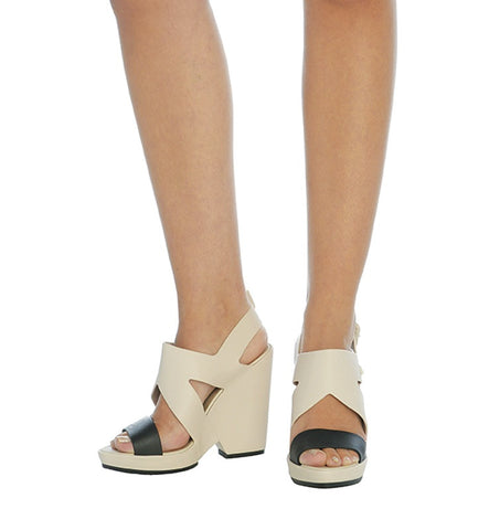 Flip Heel in Ivory by Melissa (FS)
