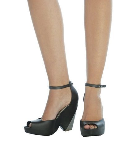 Floret Heel in Black by Melissa (FS)