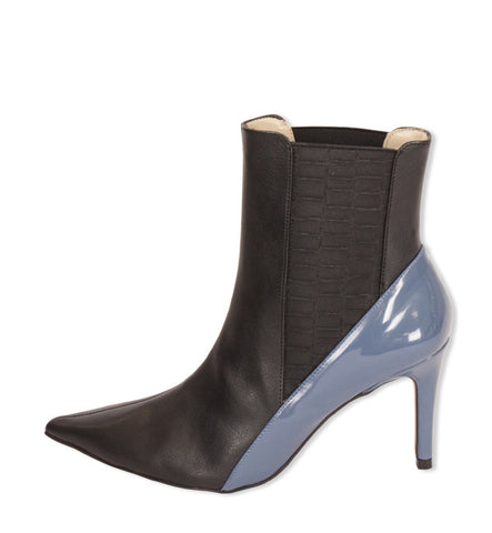 Howl Heel in Black and Blue by Olsenhaus