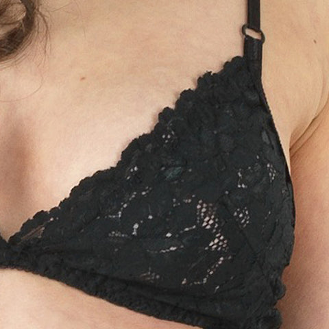 Inquietude Bralette in Black by Clare Bare (FS)