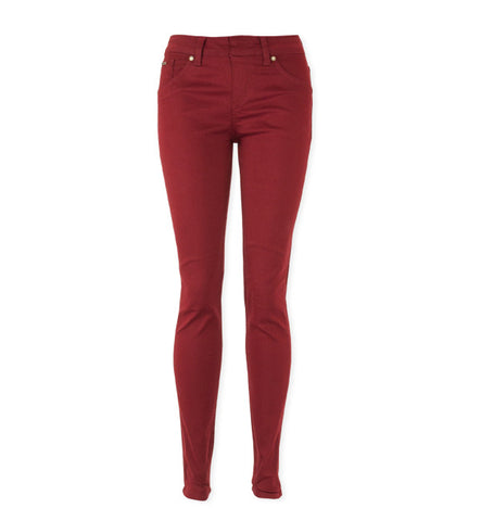 Kelly Pull-On Skinnies in Chili Pepper by Beija-Flor