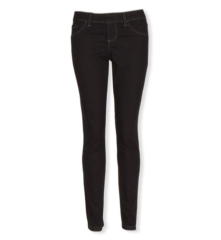 Kelly Pull-On Skinnies in Midnight