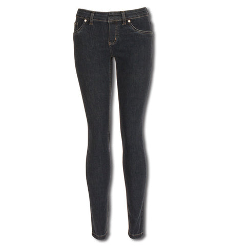 Kelly Pull-On Skinnies in Washed Blue by Beija-Flor