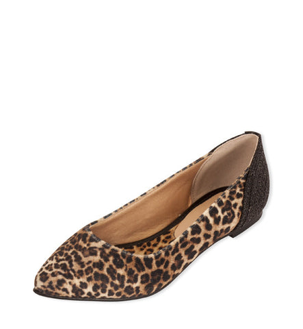 Lara Flat in Leopard by Neuaura