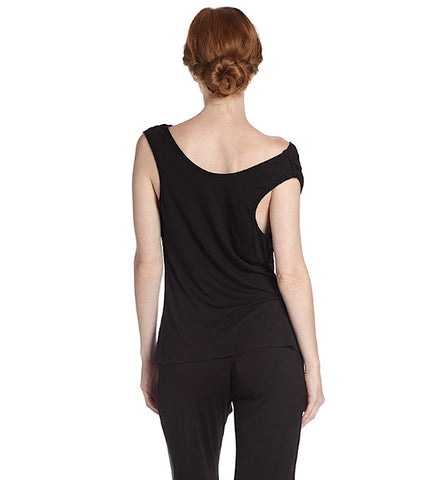 Matchplay Lounge Pant in Black by Between the Sheets (FS)